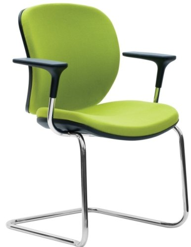 Orangebox Joy Visitor Chair with Arms - Quick Ship