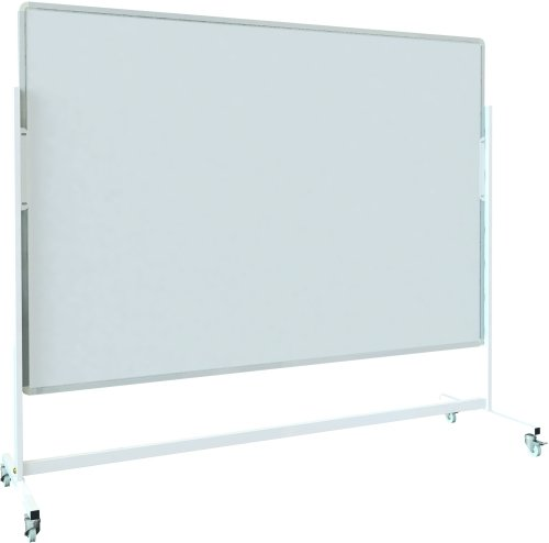 Spaceright Landscape Magnetic Mobile Writing White Boards - 1500 x 1200mm