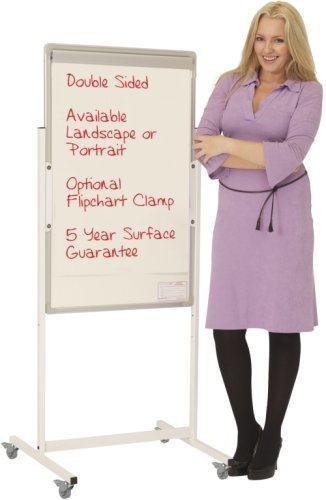 Portrait Magnetic Mobile Writing White Boards - 600 x 900mm