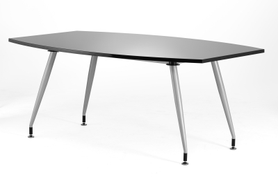 Dynamic High Gloss Boardroom Table 1800mm