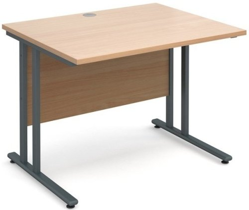 Dams Maestro 25 Rectangular Desk - (w) 1000mm x (d) 800mm