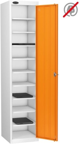 Probe LapBox Single Door 10 Compartment Locker - 1780 x 380 x 460mm