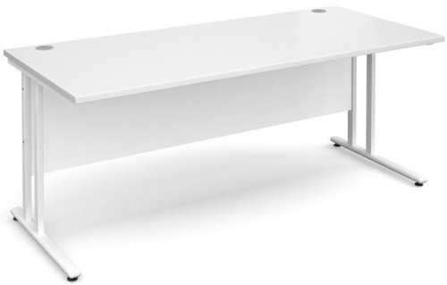 Dams Maestro 25 Rectangular Desk - (w) 1800mm x (d) 800mm