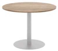 Elite Circular Meeting Table MFC Finish - 1000mm