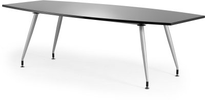 Gentoo High Gloss Writeable Boardroom Table 2400 x 1200mm
