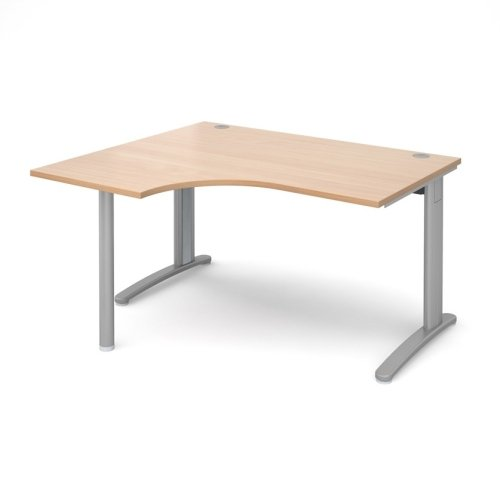 Dams TR10 Ergonomic Desk 1400mm
