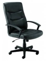Executive Start Canasta II High Back Leather Chair