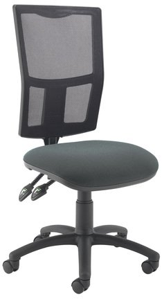 TC Office Calypso 2 Mesh Chair With Adjustable Arms