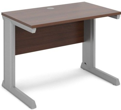 Dams Vivo Rectangular Desk with Cable Managed Legs - (w) 1000mm x (d) 600mm