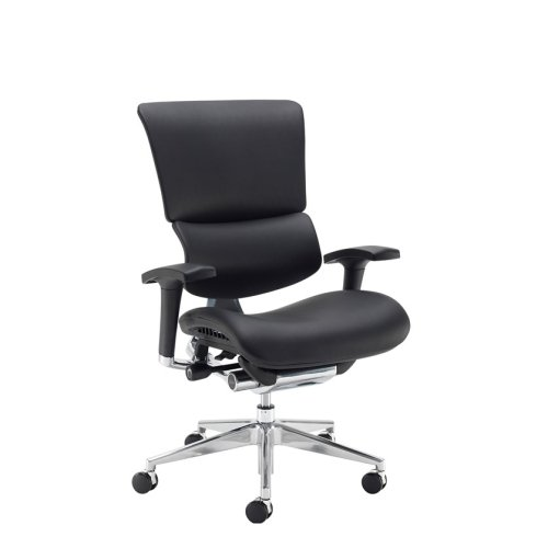 Dams Dynamo Ergo Leather Chair Without Headrest