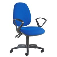 Dams Jota High Back Operator Chair with Fixed Arms