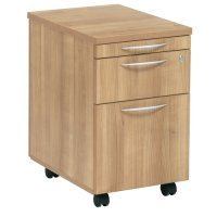 TC Office E Space 2 Drawer Mobile Pedestal with Pen Tray