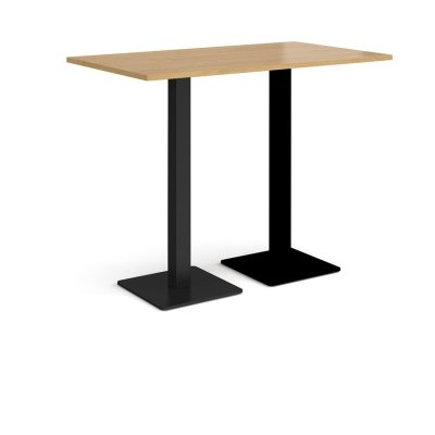 Dams Brescia Rectangular Poseur Table 1400mm