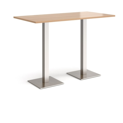 Dams Brescia Rectangular Poseur Table 1600mm