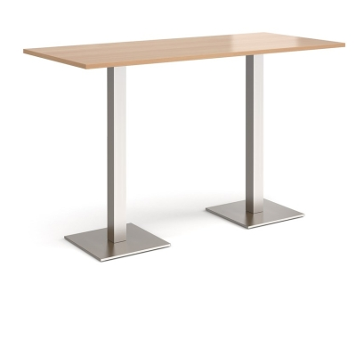 Dams Brescia Rectangular Poseur Table 1800mm