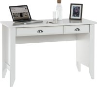 Teknik Laptop Desk Soft White - (w) 1200mm x (d) 500mm
