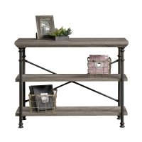 Teknik Canal Heights Console Table with shelves - (w) 1004mm x (d) 396mm
