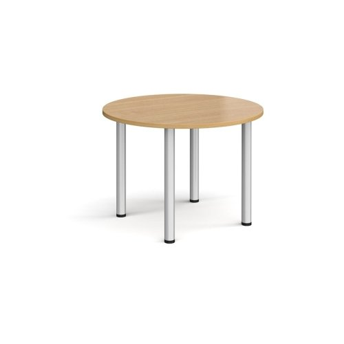 Dams Circular Radial Leg Meeting Table 1000mm