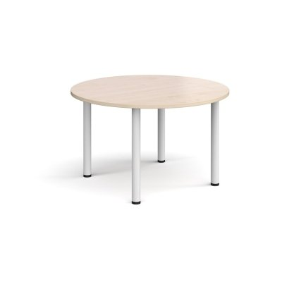Dams Circular Radial Leg Meeting Table 1200mm