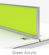 Desk Mounted Screen Dividers