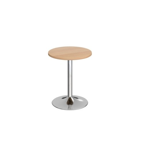 Dams Genoa Circular Dining Table With Trumpet Base 600mm Diameter