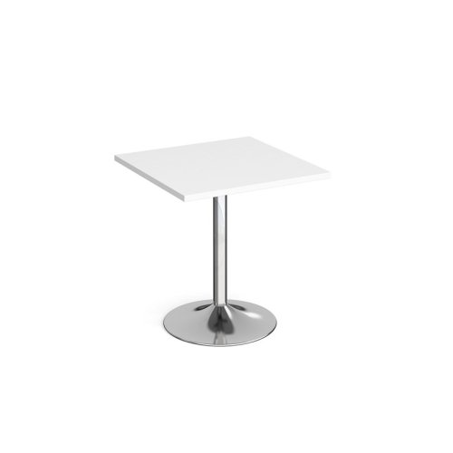 Dams Genoa Square Dining Table With Trumpet Base 700mm