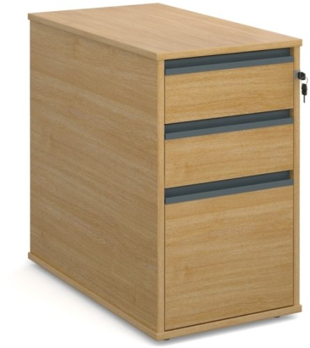 Dams Desk End Pedestal 3 Drawers - (w) 426mm x (d) 600mm
