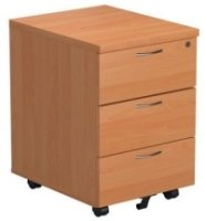 TC Bulk Mobile Pedestal 3 Drawers