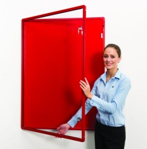 Colour Co-ordinated Decorative Tamperproof Noticeboards 1200 x 900mm