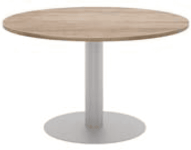Elite Circular Meeting Table MFC Finish - 800 x 725mm