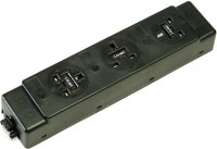 ABL Konsort Underdesk Power Modules 3.15A - 3 Sockets & No Switches