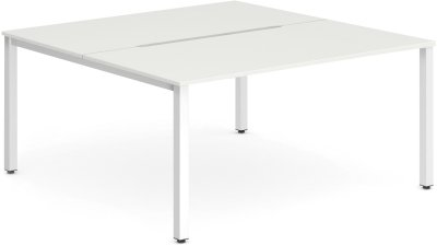 Dynamic Evolve Two Person Bench Desk Set 1400mm Width