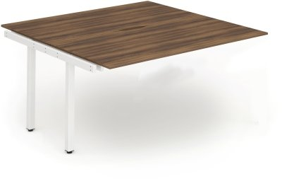 Gentoo Bench Extension Desk, Pod of Two, Back to Back - (w) 1200mm x (d) 1600mm