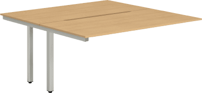 Dynamic Evolve Two Person Extension Desk Set 1400mm Width