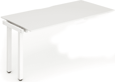 Gentoo Bench Extension Desk, Pod of 1 - (w) 1600mm x (d) 800mm