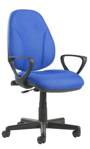 Dams Bilbao Lumbar Operators Chair with Fixed Arms