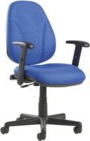 Dams Bilbao Lumbar Operators Chair with Adjustable Arms