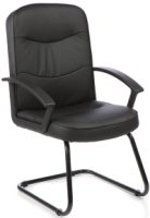 Gentoo Harley Cantilever Chair Leather