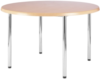 Beacon Chrome Round Table 1200mm Diameter
