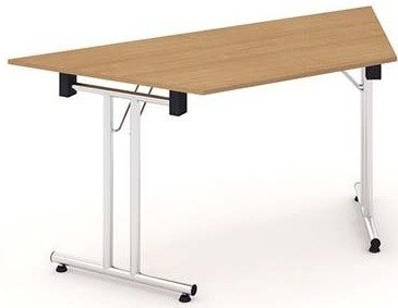 Gentoo Bulk Folding Trapezium Table 1600 x 800mm