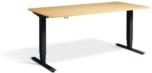 Lavoro Advance Height Adjustable Desk - (w) 1400mm x (d) 700mm