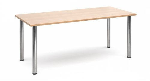 Dams Rectangular Table with Radial Leg 1800 x 800mm