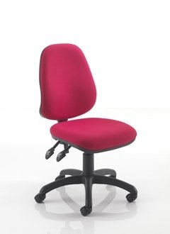 Calypso 2 Deluxe High Back Operator Chair - With Fixed Arms
