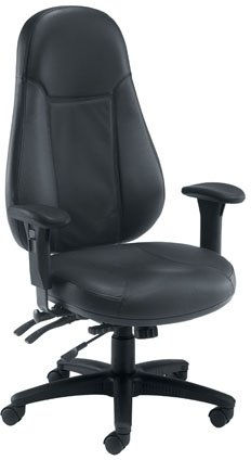 Alpha 24 hour leather task chair for sale
