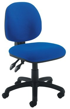 Concept Mid Back Operator Chair With 1D Height Adjustable Arms - Chrome Base