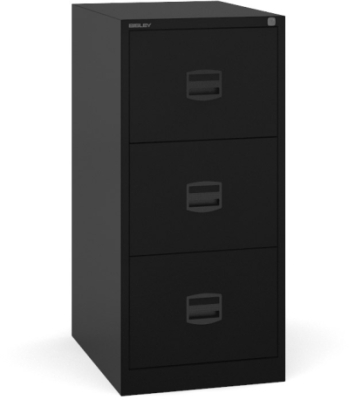 Dams Contract Steel Filing Cabinet 3 Drawer