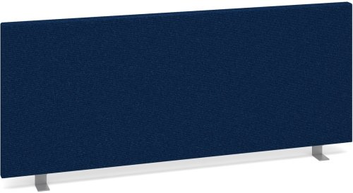 Dams Desk Mounted Straight Fabric Screen 1000 x 400mm