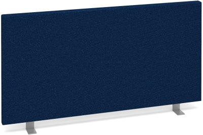 Desk Mounted Straight Fabric Screen 800 x 400mm