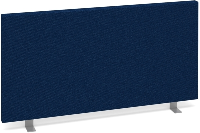 Dams Desk Mounted Straight Fabric Screen 800 x 400mm