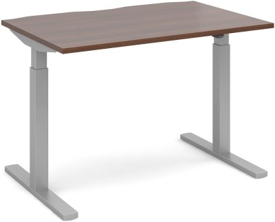 Dams Height Adjustable Single Desk - (w) 1600mm x (d) 800mm